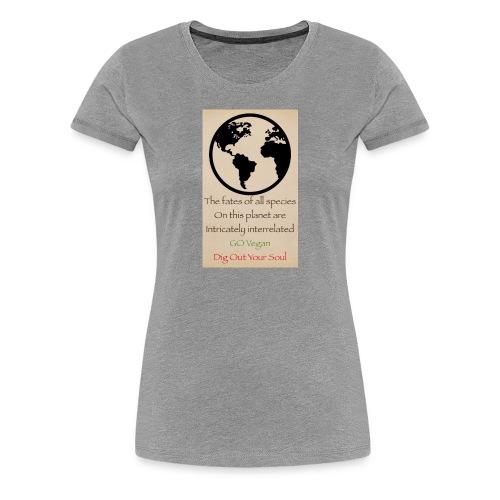eco not ego - Women's Premium T-Shirt