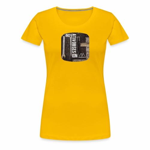 "InovativObsesion ""MECHANICAL"" apparel - Women's Premium T-Shirt"