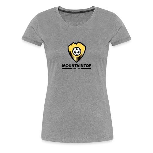 Mountaintop Soccer Association Logo - Women's Premium T-Shirt