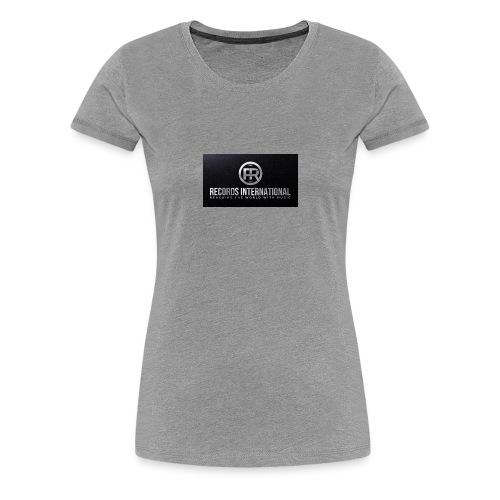 FR RECORDS INTERNATIONAL - Women's Premium T-Shirt