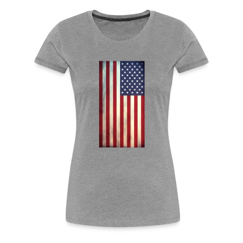 the american flag wear and Accessories - Women's Premium T-Shirt