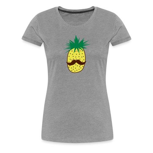 LUPI Pineapple - Women's Premium T-Shirt