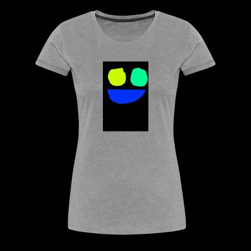 Smiley face colors - Women's Premium T-Shirt