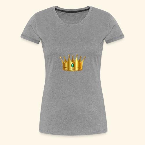 Royal Crown - Women's Premium T-Shirt