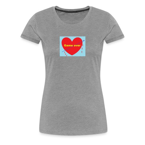 The end in love - Women's Premium T-Shirt