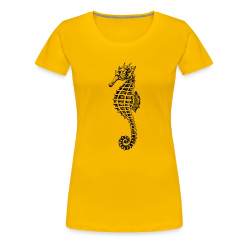 seahorse - Women's Premium T-Shirt