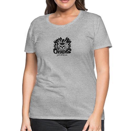 Mama Java & The Caffeinds Rock Band - Women's Premium T-Shirt