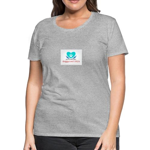 Logo doggycool5924 - Women's Premium T-Shirt