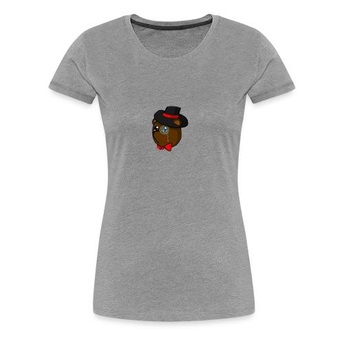 Bears in tophats - Women's Premium T-Shirt