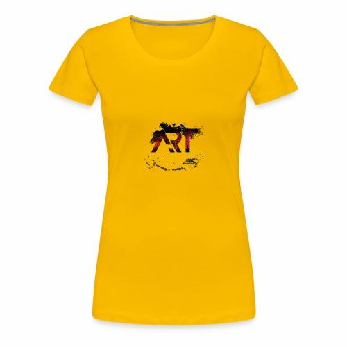 ART - Women's Premium T-Shirt
