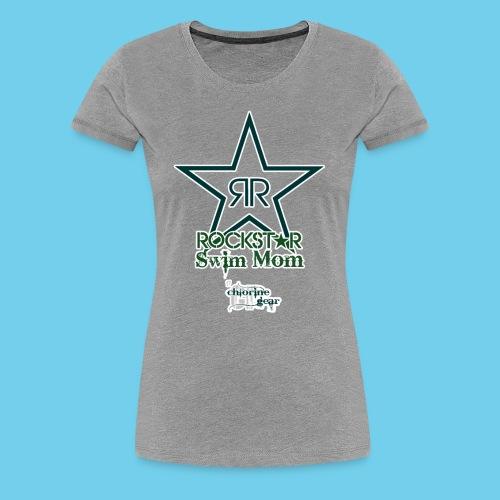 Rockstar Swim Mom - Women's Premium T-Shirt