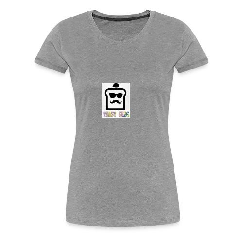 Toast Gang logo - Women's Premium T-Shirt
