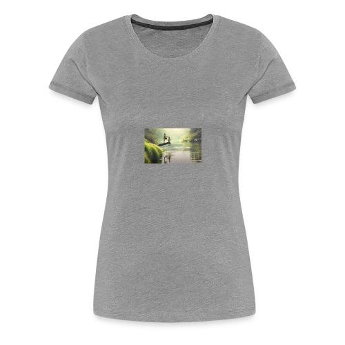 fishing - Women's Premium T-Shirt