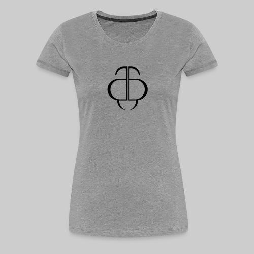 BeBusta logomark - Women's Premium T-Shirt