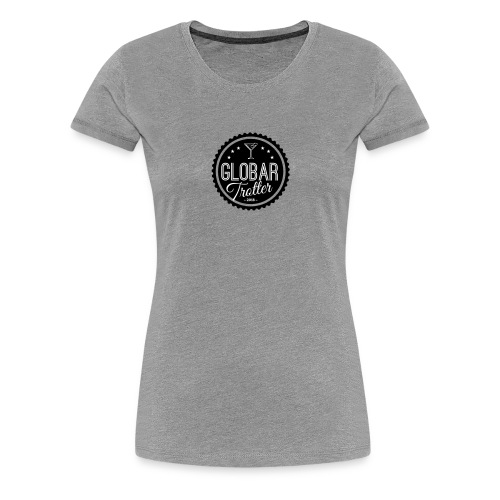 Globar Trotter - Signature Logo - Women's Premium T-Shirt