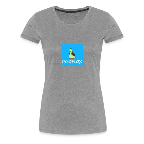 Dynoblox Logo - Women's Premium T-Shirt