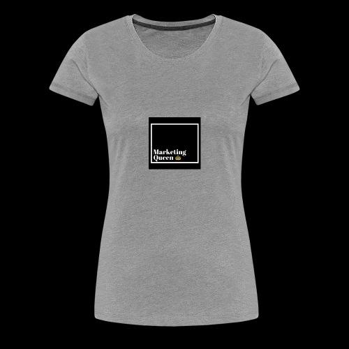 MarketingQueen - Women's Premium T-Shirt