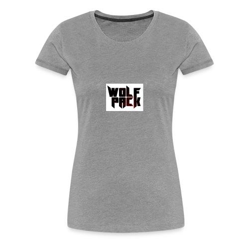 Wolf Pack Merch - Women's Premium T-Shirt