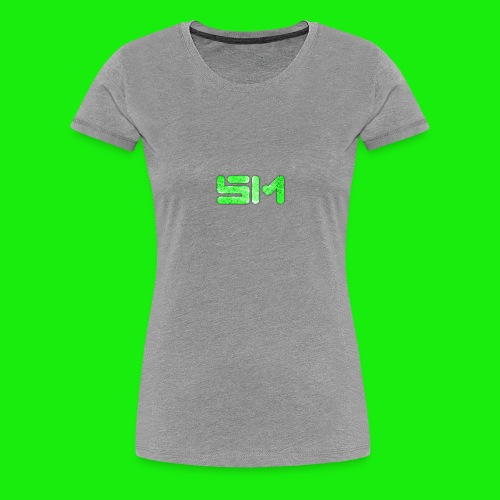 SloMotion logo - Women's Premium T-Shirt