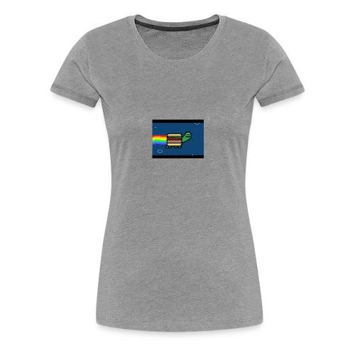 nyan turtles - Women's Premium T-Shirt
