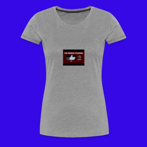 The Neiman Channel outro - Women's Premium T-Shirt