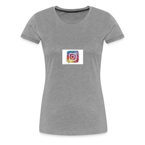 Vexx Instagram camera - Women's Premium T-Shirt