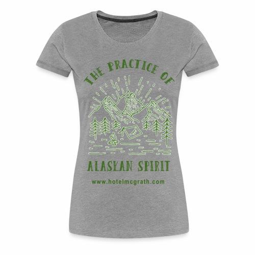Alaskan Spirit green - Women's Premium T-Shirt