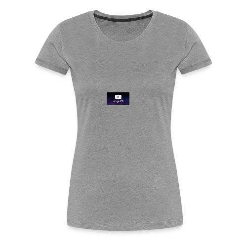 my life is youtube poster - Women's Premium T-Shirt