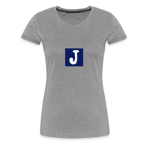 j logo big - Women's Premium T-Shirt