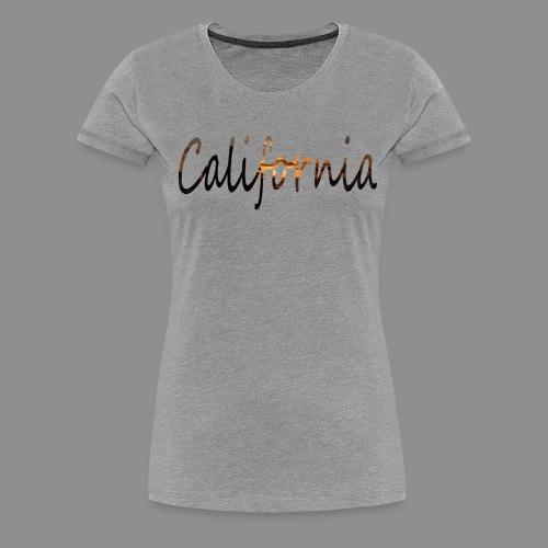 California - Women's Premium T-Shirt