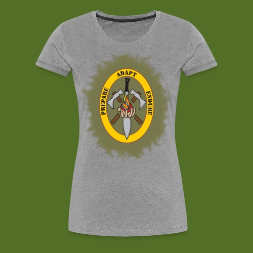 Bug Out Boys Logo - Women's Premium T-Shirt