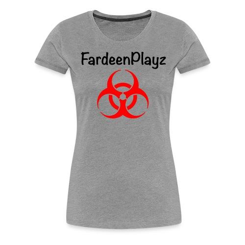 FardeenPlayz At Top W/ Logo - Women's Premium T-Shirt