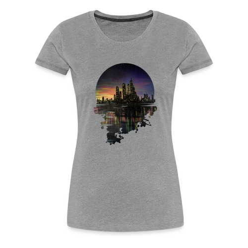 City Lights - Women's Premium T-Shirt