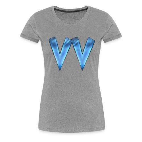 DOUBLE V (TRANSPARENT BACKGROUND) - Women's Premium T-Shirt