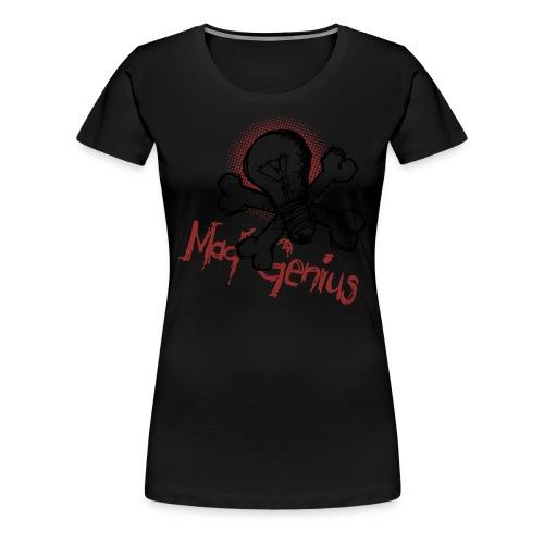 Mad Genius - On Light - Women's Premium T-Shirt