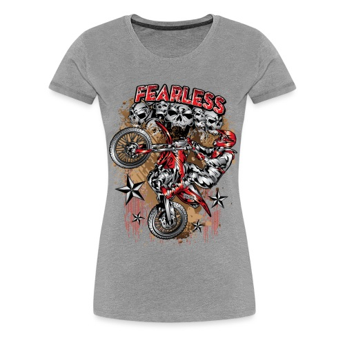 Fearless Motocross Honda - Women's Premium T-Shirt