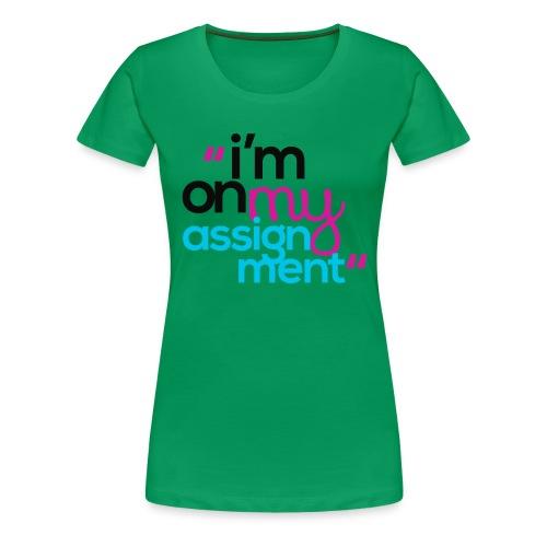 IOMA - Woman White - Women's Premium T-Shirt
