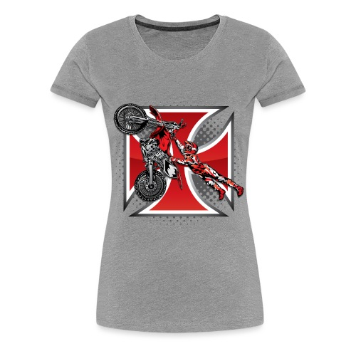 Red Baron Motocross - Women's Premium T-Shirt