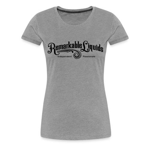 RLMAINBLACK - Women's Premium T-Shirt