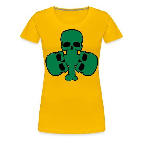 skull_shamrock - Women's Premium T-Shirt