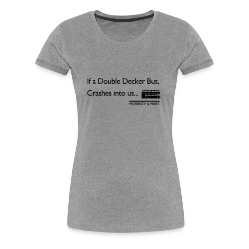 Double Decker Bus - Women's Premium T-Shirt