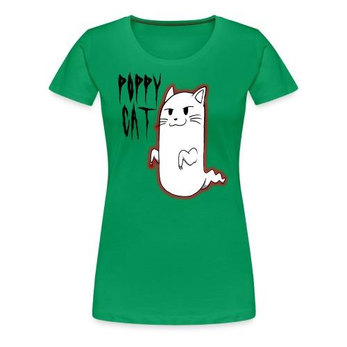 cat shirt poppy - Women's Premium T-Shirt