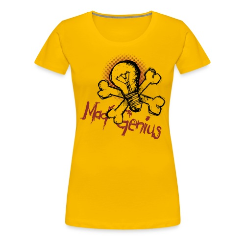 Mad Genius - On Light - Women's Premium T-Shirt