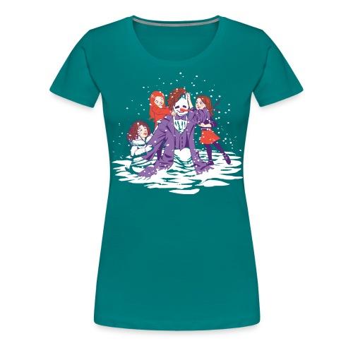 snowman take 2 - Women's Premium T-Shirt