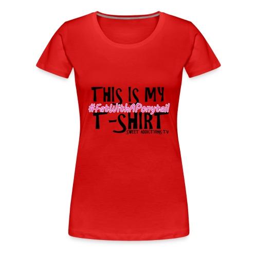 CandyT2text png - Women's Premium T-Shirt