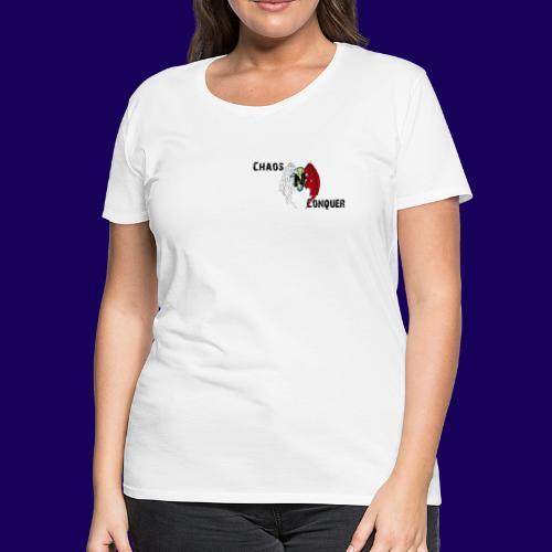 ChaosNConquer Design Logo - Women's Premium T-Shirt