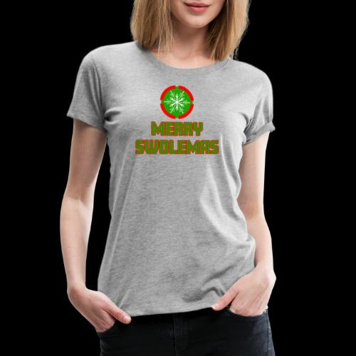 MERRY SWOLEMAS - Women's Premium T-Shirt