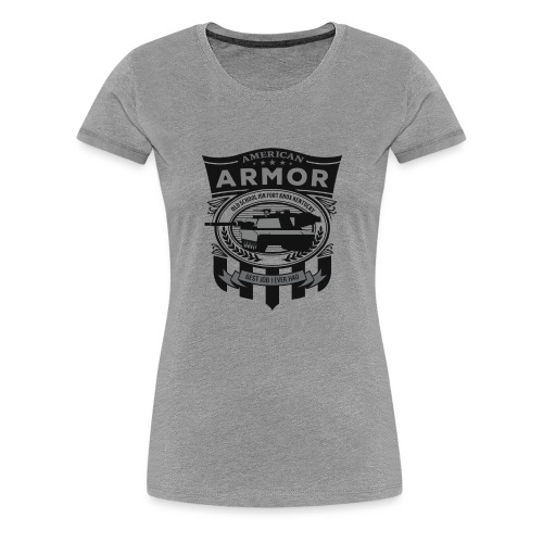 American Armor: Old School - Women's Premium T-Shirt