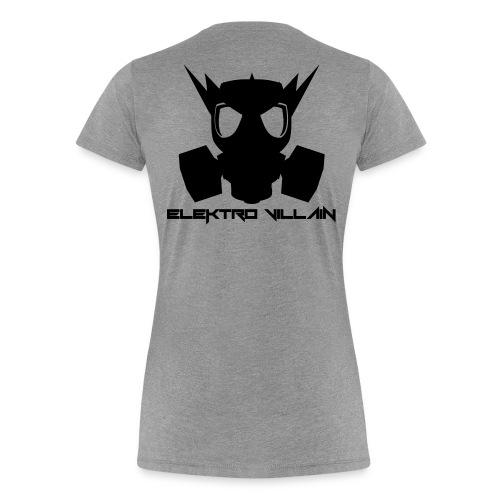 EV Text black vect - Women's Premium T-Shirt