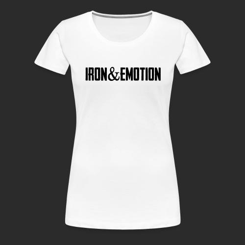 IRON&EMOTION's - Women's Premium T-Shirt